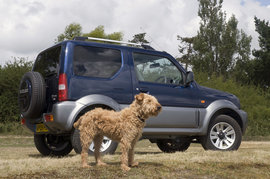 Suzuki Jimny, автомобиль