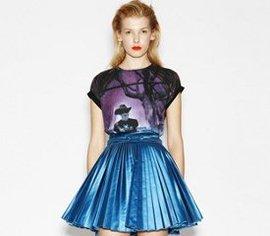 плиссированная юбка, зима, гардероб, как правильно носить