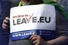 плакат за выход из ЕС