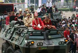 Массовая свадьба, БТР, Индонезия