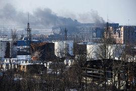 Массированный обстрел Донецка и Макеевки возобновился