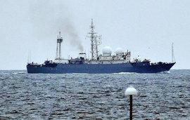 Неизвестный корабль вызвал панику в Швеции - хотя просто мимо проплывал