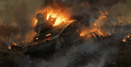Бомбит по-взрослому: Опубликовано видео уничтожения танков ИГ