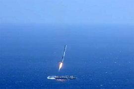 SpaceX показала видео очередной огненной катастрофы Fancon 9