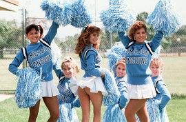 Чирлидинг, cheerleading, девушки, пампушки