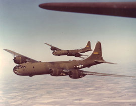 B-29 Superfortress, самолет, Boeing, бомбардировщик