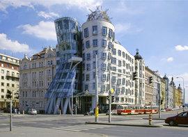 Dancing house, Nové Město, Прага, Чехия