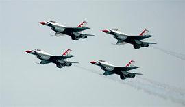 Thunderbirds, пилотажная группа