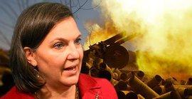Виктория Нуланд примерила роль миротворца, призвав Киев к соблюдению Минских соглашений