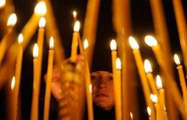 Православие, свечи