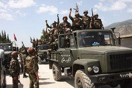 Сирия, Алеппо, победа