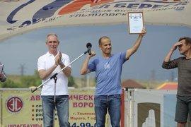 Секретарь Общественной палаты России Александр Бречалов переплыл Волгу