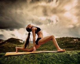 женщина, упражнения, фигура