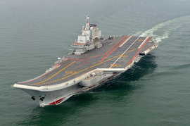 авианосец Ляонин, Китай