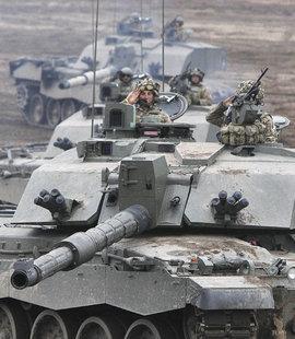 танк, учения