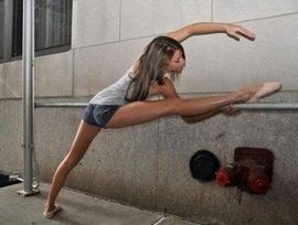 шпагат, женщина, девушка, гимнастика