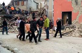 землетрясение, Италия
