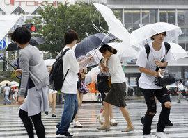 Тайфун, Япония