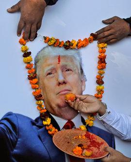 Дональд Трамп, инаугурация, протесты