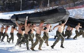 Спецназ, Южная Корея, военные учения