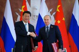 Президент России Владимир Путин принимает участие в торжествах в Пекине