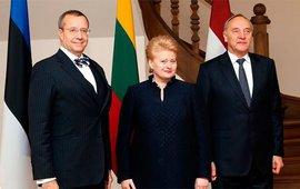 президенты стран Балтии