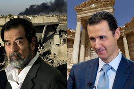 Саддам Хусейн, Башар Асад