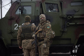 Донбасс, Украина, солдаты