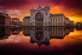 Будапешт, закат