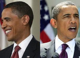обама, президент, седина, стресс, наследственность