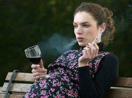 наследственность, курение, алкоголь, беременность